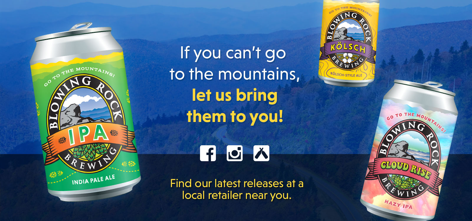 Blowing Rock Brewing Latest Releases