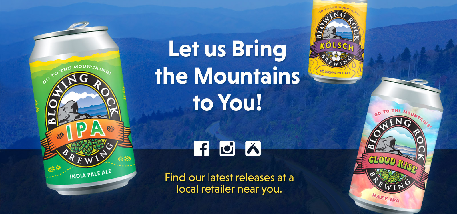 Let us bring the mountains to you!